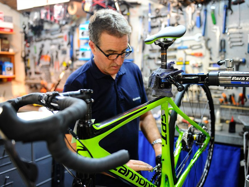 Repairs & support: Putting you back in the saddle